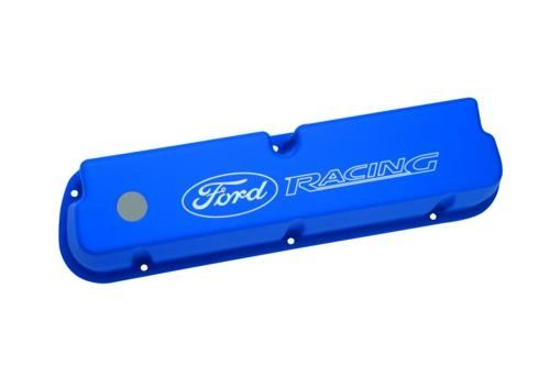 BLUE SATIN VALVE COVERS, M-6582-LE302BL