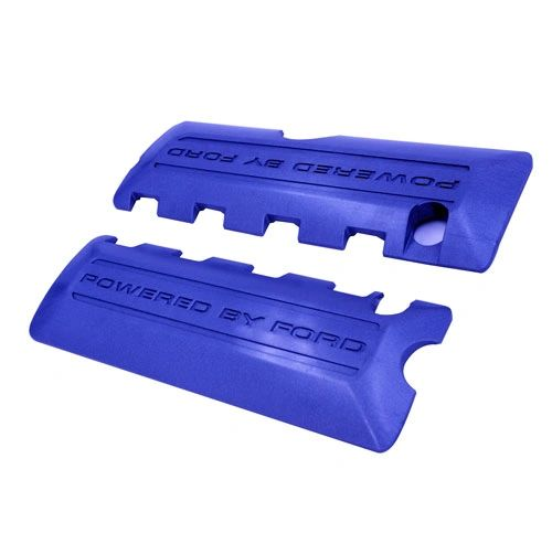 MUSTANG 5.0L COYOTE BLUE COIL COVERS/ M-6P067-M50B