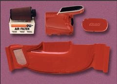 87-93 Mustang Stormin Norman Ram Air Kit, Part # 8007