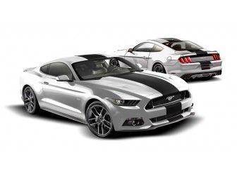 Graphics Kit - Custom Stripe Kit, Over -the-Top, Single Stripe, Gloss White/ VFR3Z-6320000-M