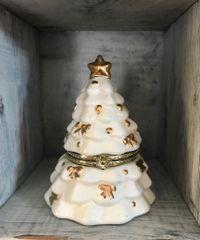 Vintage China Christmas Tree Music Box