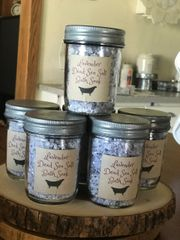 Lavender Dead Sea Salt Bath Soak 6.5 oz.