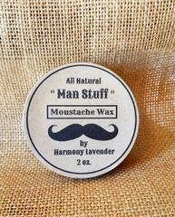 All Natural Moustache Wax 2oz