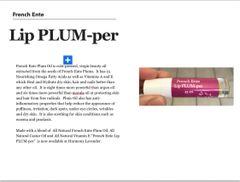 French Ente Lip-PLUM-per