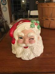 Vintage Conrad Santa Vase