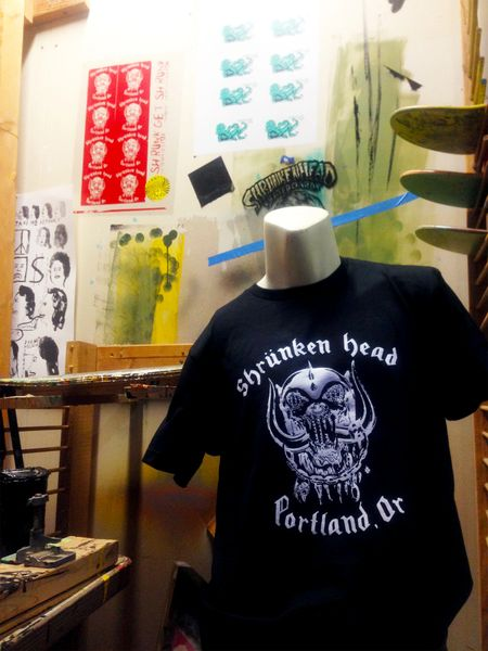 "Shrunken Head ""Everything Shrunker"" Tee"