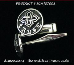"""SMALL TRUST LINKS"" Sterling Silver .925 cuff links Made in U.S.A."