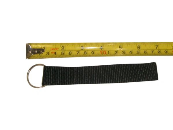 "Key Leash,key strap,key holder 1"" split ring,Made in U.S.A."