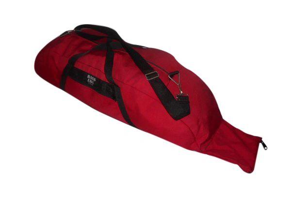 Baseball bag standard size,holds 2 bats,outside pocket ,Made in U.S.A.