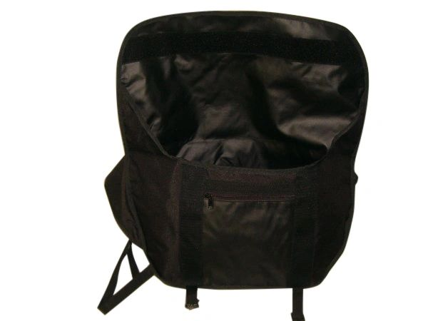 Deluxe bike messenger bag water proof lining 18 oz tough vinyl Made in U.S.A.