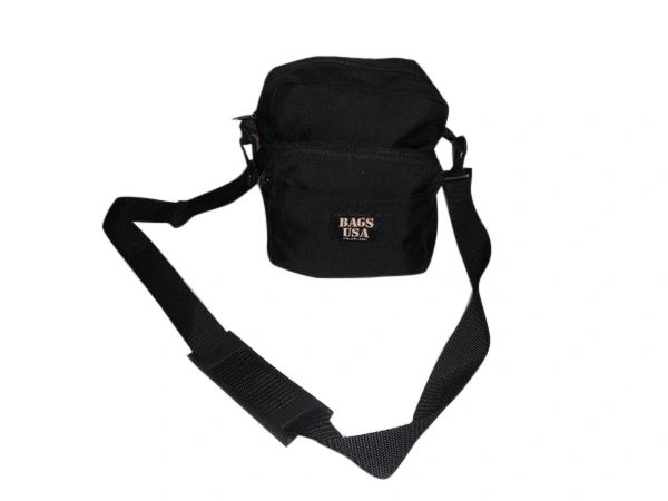 Shoulder bag with multiple outside pockets,carry all your gadgets Made in U.S.A.
