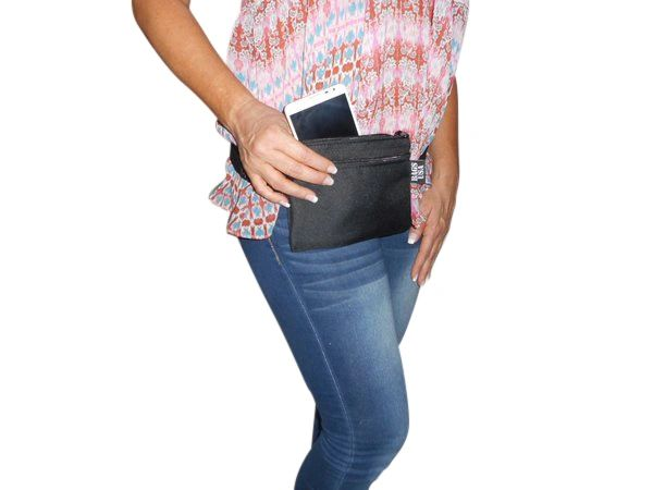Flat Fanny pack for Cell phone,keys etc Made in USA.
