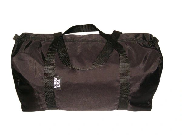 Sport gym or beach bag,dome shape flat bottom Made in USA.