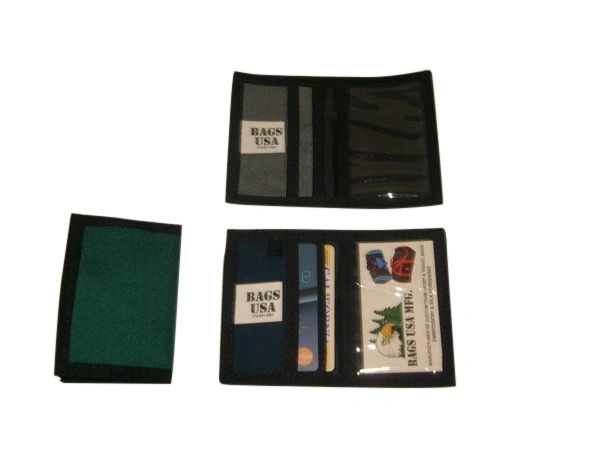 ID Credit card holder,wallet holds business cards and ID durable, made in U.S.A.