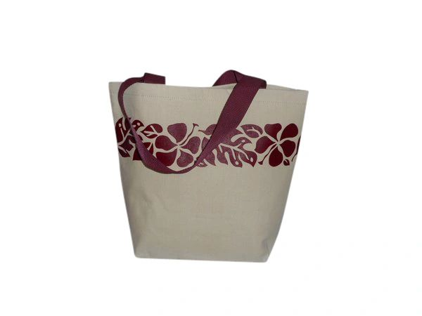 Maui tote beach bag,shopping bag or great for picnic. open tote.