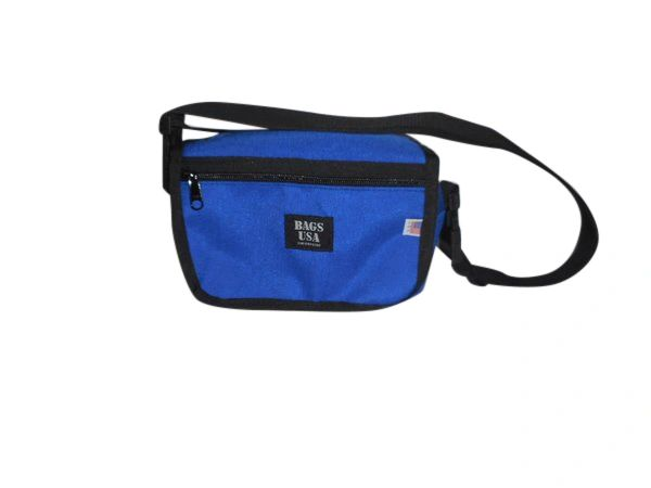 Shoulder bag converts to fanny pack Made in USA.