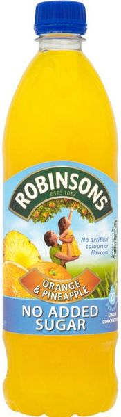 Robinsons Orange and Peach NAS Squash (US 1L)