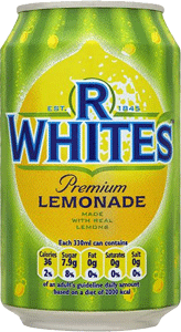 RWhites Lemonade 330ml
