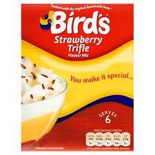 Bird's Strawberry Trifle Mix (141g)