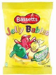 Bassett's Jelly Babies Bag (190g)