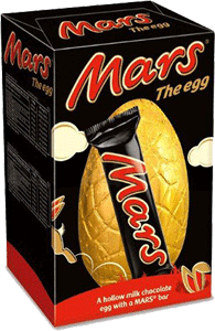 Mars Medium Egg (141g/5oz)