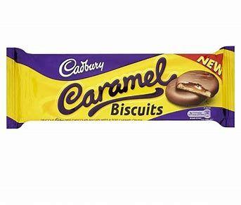 Cadburys Caramel Biscuits (130g)