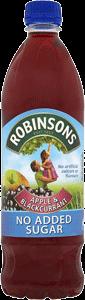 Robinsons Apple & Black NAS Squash (1L)