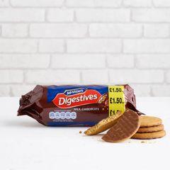 McVitie's Milk Chocolate Digestives (266g)