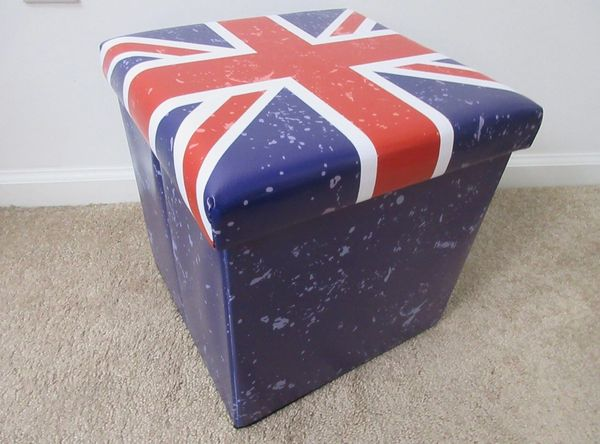 Union Jack Folding Storage Box