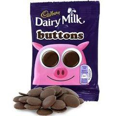 Cadbury Dairy Milk Buttons (30g)