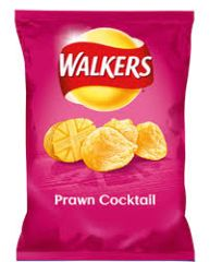 Walkers Prawn Cocktail Crisps (32.5g)