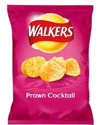 Walkers Prawn Cocktail Crisps (32.5g)