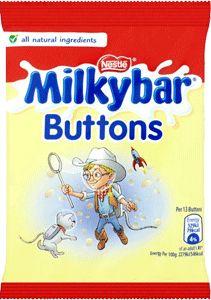 Milky Bar Buttons (30g/1.1oz)