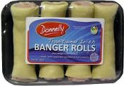 Irish Style Sausage Rolls 4's (454g / 16oz)