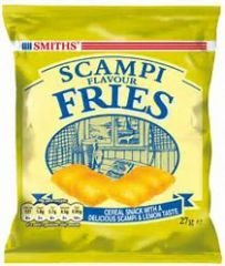 Smiths Scampi Fries (27g) - BEST BY 10/2018