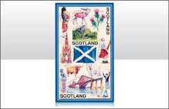 Iconic Scotland Tea Towel