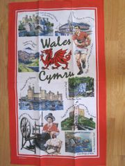 Iconic Wales Tea Towel