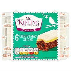 Mr Kipling's Christmas Cake Slices