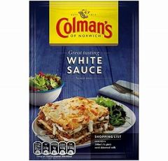Colman's Sauce Mix Sach White (25g) - BEST BY 2/28/2019