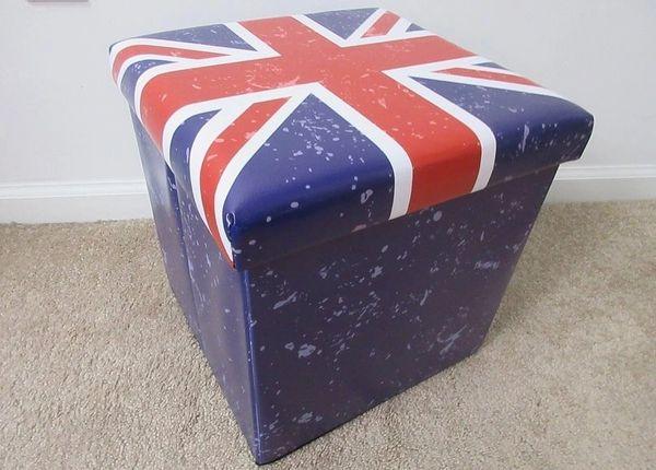Union Jack Folding Storage Box