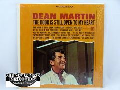Vintage Dean Martin The Door Is Still Open To My Heart With Shrink Wrap First Year Pressing Reprise RS-6140 1964 NM- Vintage Vinyl LP Record Album