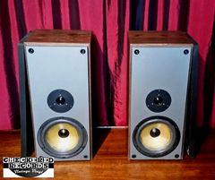 Vintage Vintage Luxman 60 Watt MS-10 Speakers Bookshelf or Small Floor Speakers