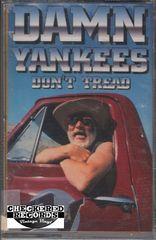 Vintage Damn Yankees Don't Tread Warner Bros. Records 9 45025-4 Cassette Tape