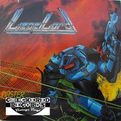Vintage Liege Lord Master Control First Year Pressing 1988 US Metal Blade Records 72268 Vintage Vinyl LP Record Album