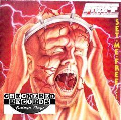 Vintage Force Set Me Free First Year Pressing 1984 UK Heavy Metal Records HMR LP 16 Vintage Vinyl LP Record