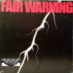 Vintage Fair Warning Fair Warning Self-Titled First Year Pressing 1981 US MCA Records MCA-5236 Vintage Vinyl LP Record Album