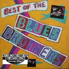 Vintage The Blues Brothers Best Of The Blues Brothers First Year Pressing 1981 US Atlantic SD 19331 Vintage Vinyl LP Record Album