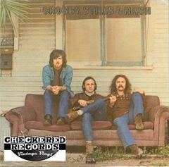 Crosby, Stills & Nash Crosby, Stills & Nash 1977 US Atlantic SD 19117 Vintage Vinyl Record Album