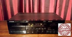 Vintage Pioneer CT-W600R Double Dual Cassette Deck Tested