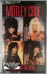 Vintage Mötley Crüe ‎Shout At The Devil Club Edition 1983 US Elektra E4-60289 Cassette Tape